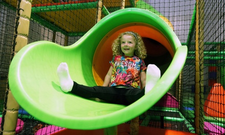 Play Session with Squash Drinks for Up to Four Children at Crazy Club Soft Play Centre (61% Off)