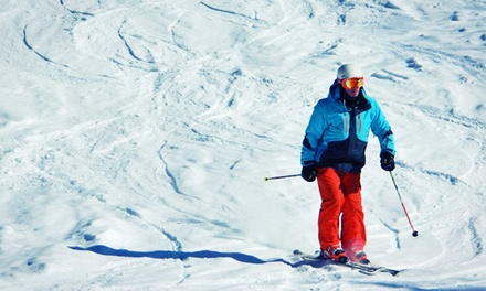 All-Day Skiing or Snowboarding with Optional Gear Rental at Mont Ste Marie (Up to 36% Off)