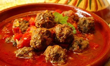 Marokkanisches 3-Gänge-Menü mit traditionellem Lehmtopfgericht für Zwei oder Vier bei Le Marrakesh (bis zu 54% sparen*)