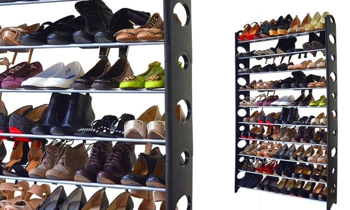 10 , 20 , 40 , Or 50 Pair Shoe Rack: ...