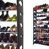 10-, 20-, 40-, or 50-Pair Shoe Rack