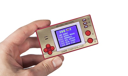 100+ RetroStyle Pocket Games with LCD Screen from £9.98