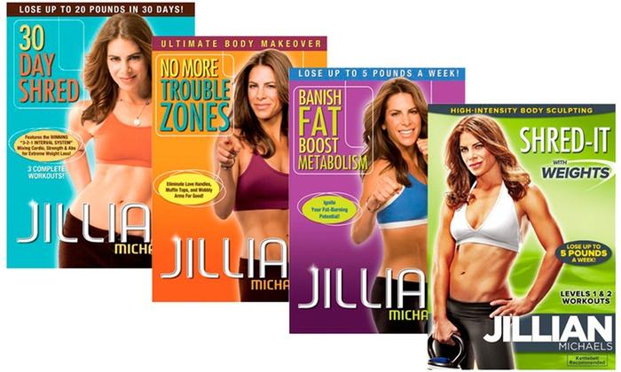 Jillian Michaels Four-DVD Bundle: Jillian Michaels Four-DVD Bundle