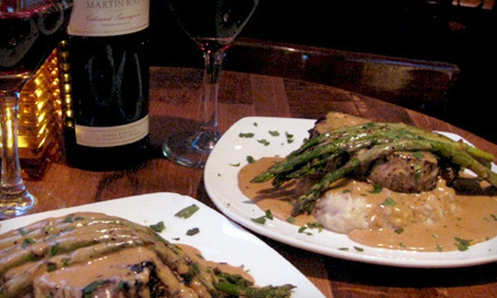 Maderas Steak & Ribs - Los Alamitos: Filet Mignon Dinner for Two or Four with Appetizers and Drinks at Maderas Steak & Ribs (Up to 46% Off)