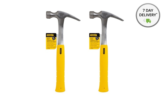 Set of Two 16 oz. Stanley Nail Hammers: Set of Two 16 oz. Stanley Nail Hammers. Free Returns.