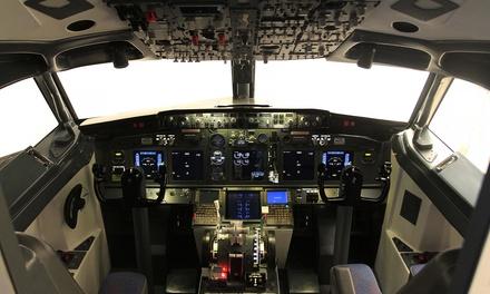 Simulation de pilotage F16 d1h ou Boeing 737 d1h, 1h30 ou 2h30 dès 69 € chez Flight Zone