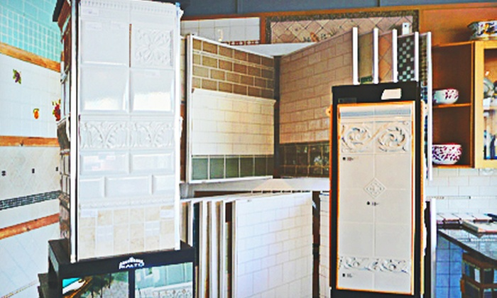 Ideal Tile of Stamford - Downtown: Tile and Home-Project Goods at Ideal Tile of Stamford (Up to 65% Off). Two Options Available.