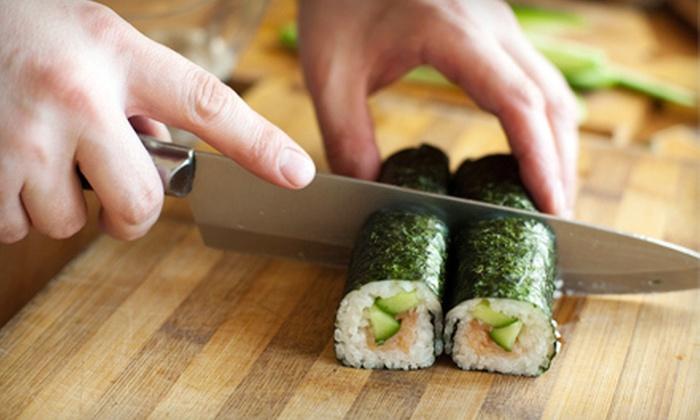 Samba Steak & Sushi House - Framingham: $59 for a Sushi-Making Class for Two at Samba Steak & Sushi House ($120 Value)