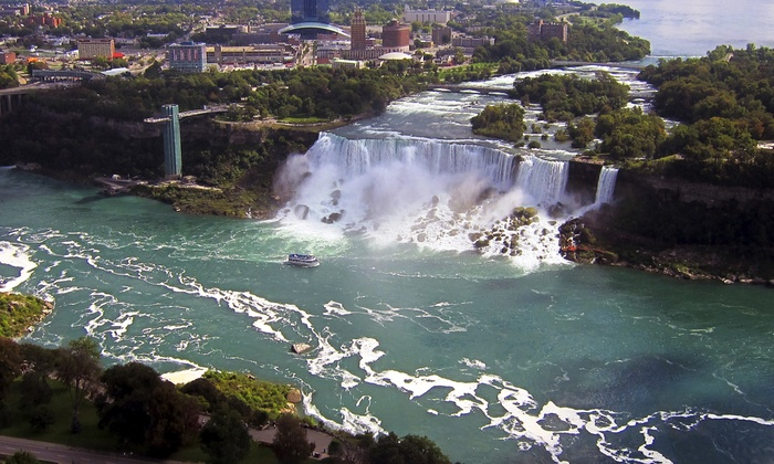 Lake Aviation - Multiple Locations: $125 for 45-Minute Scenic Discovery Flight Over Niagara Falls for Two from Lake Aviation ($249 Value)