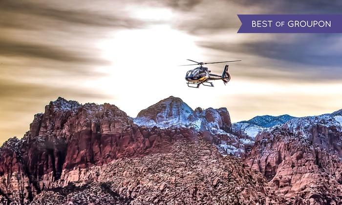 Las Vegas Helicopter Tours Groupon