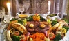 The Emerald Restaurant - Austin: Four-Course Carved-Lobster Dinner or Chateaubriand and Lobster Dinner for Two at The Emerald Restaurant (Up to 60% Off)