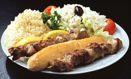 $15 for Three Groupons, Each Good for $10 Worth of Greek Food and Drinks at Dasks Greek Grill ($30 Value)