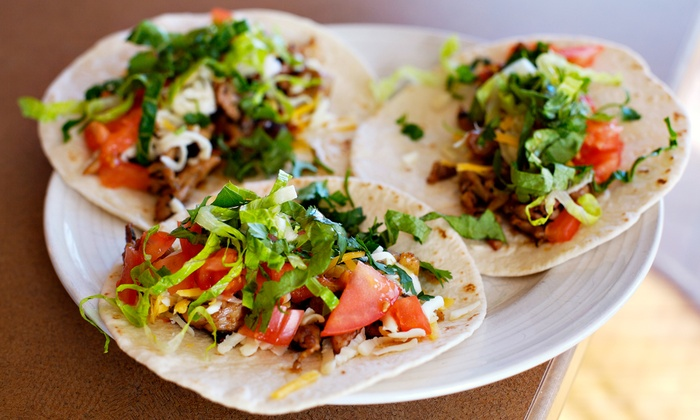 Taco Del Mar - Multiple Locations: Baja-Style Mexican Food at Taco Del Mar (Up to 42% Off). Two Options Available.