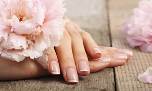 Hamila's Uplifts: One or Two Premium Manicures and Pedicures at Hamila's Uplifts (Up to 53% Off)