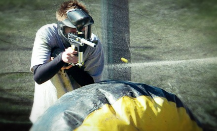 $25 for an All-Day Outing with Gun, 250 Paintballs, Gear, and Refreshments at Clearwater Paintball ($50 Value)