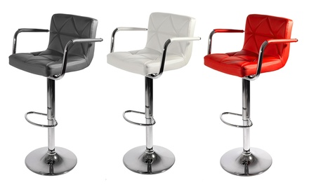 Two Malvy Bar Stools in a Choice of Colour With Free Delivery