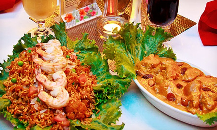 India K' Raja - Three Chopt: Indian Cuisine for Two or Four or More at India K' Raja (Half Off)