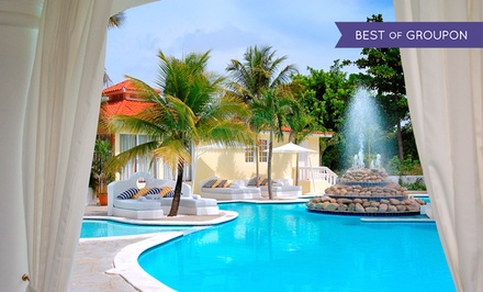 Groupon Deal: All-Inclusive Stay at Lifestyle Crown Residence Suites in the Dominican Republic. Incl. Taxes & Fees. Dates into August.