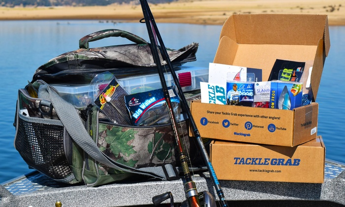 Tackle Grab: Two or Three Months of Personalized Monthly Bait and Tackle Deliveries from Tackle Grab (Up to 44% Off)