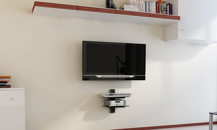Argom TV Wall Mount Component Shelves