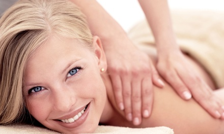 Massage Package with Ion Foot Detox, Shuttle Service, or Anti-Aging Facial at Sam's Spa (Up to 59% Off)