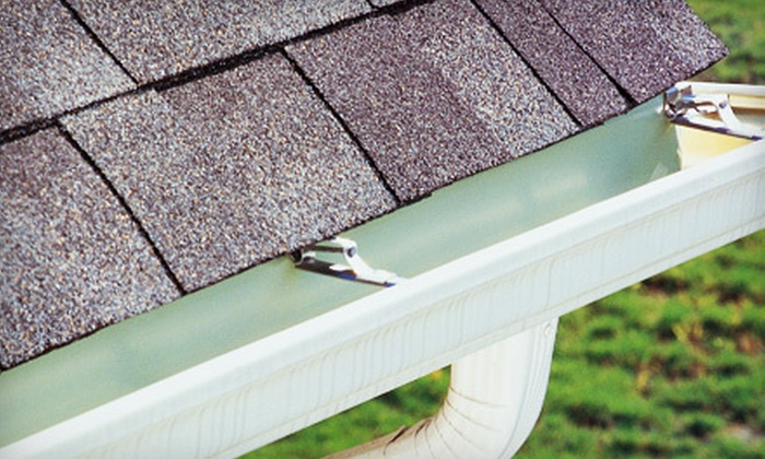 The Gutter Man - Houston: $75 for a Gutter, Downspout, and Roof-Debris Cleaning with Roof Inspection from The Gutter Man ($150 Value)