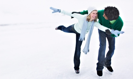 Ice Skating and Concessions for Two or Four at Aviator Sports and Events Center in Brooklyn (Up to 56% Off)