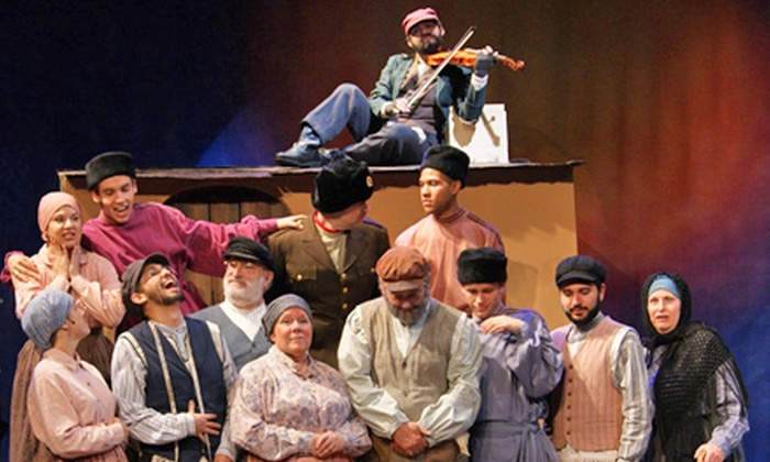 """""""Fiddler on the Roof"""" - Tustin: """"Fiddler on the Roof"""" at Encore Dinner Theatre (Up to 42% Off). Multiple Dates and Three Seating Options Available."""