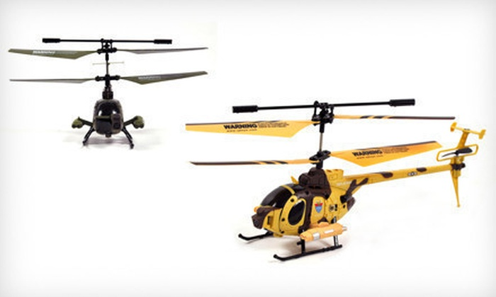Remote-Controlled Video Helicopter: $44 for a Yiboo Remote-Controlled Helicopter with Built-In Video Camera ($109 List Price). Five Colors Available.