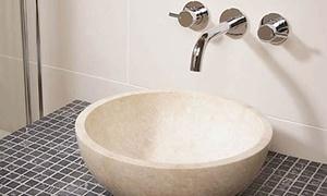 MGF Stone: Vasque en pierre couleur beige ivoire à 99,90 € chez MGF Stone
