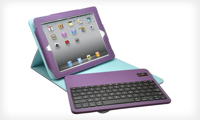 Aduro iPad Case with Bluetooth Keyboard: $39 for an Aduro iPad Case and Bluetooth Keyboard ($79.99 List Price). Five Colors Available. Free Shipping and Returns.