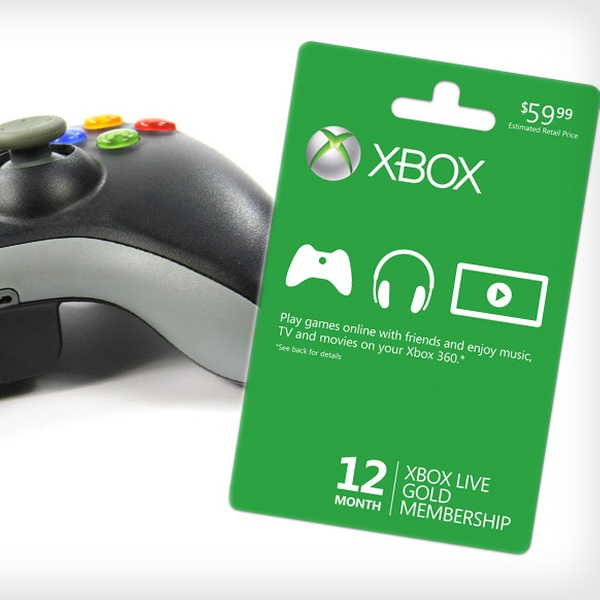 Xbox Live Membership Groupon Goods