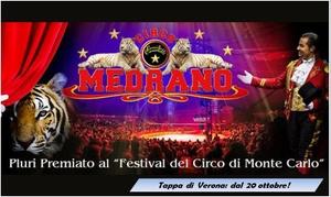 Circo Medrano a Verona: Circo Medrano - dal 20 ottobre al 6 novembre a Verona (sconto fino a 64%)