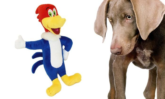 Woody Woodpecker Plush Dog Toy: Woody Woodpecker Plush Dog Toy. Free Returns.