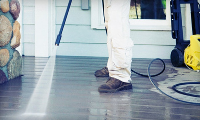 Jack's Painting Service, LLC - South Portland: Gutter Cleaning or Power Washing from Jack's Painting Service, LLC (Up to 75% Off). Three Options Available.