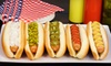 Capital Pub and Hot Dog Co. - East Village: Party Catering for 10 or 20 or $20 Worth of Hot Dogs from Capital Pub and Hot Dog Co. (Up to 60% Off)