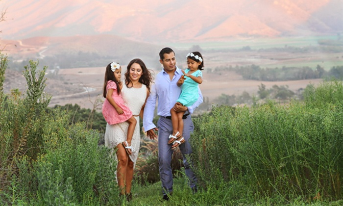 Nicoli Productions - East Valley: Photo-Shoot Portrait Package for a Family from Nicoli Productions (Up to 91% Off)