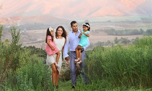 Nicoli Productions: Family or Baby Photo-Shoot Portrait Package from Nicoli Productions (Up to 91% Off). Three Options Available.
