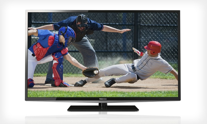 """Toshiba L5200U LED TVs: Toshiba 40"""", 46"""", or 50"""" L5200U 1080p 120Hz LED TV (Manufacturer Refurbished) (Up to 40% Off). Free Shipping & Returns."""