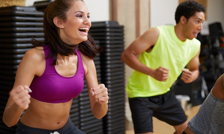 One-Month Gym Membership or 12 Classes at The Fitness Center (Up to 86% Off). Three Options Available.