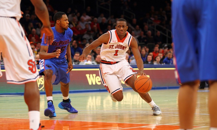 St. John's Red Storm Men's Basketball - Madison Square Garden: St. John's Men's Basketball Game at Madison Square Garden on January 21 or February 7 or 23 (Up to 53% Off)