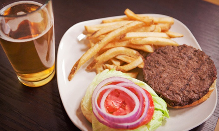 Bar 153 Sports Bar and Grill - Garden City: Burgers and Beer for Two or Four at Bar 153 Sports Bar and Grill (52% Off)