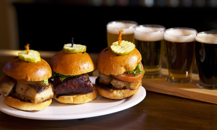 Beer Belly's - Bayside: Food and Drinks for Two or Four at Beer Belly's (45% Off)