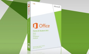 Microsoft Office Home And Student 2013 Software Download