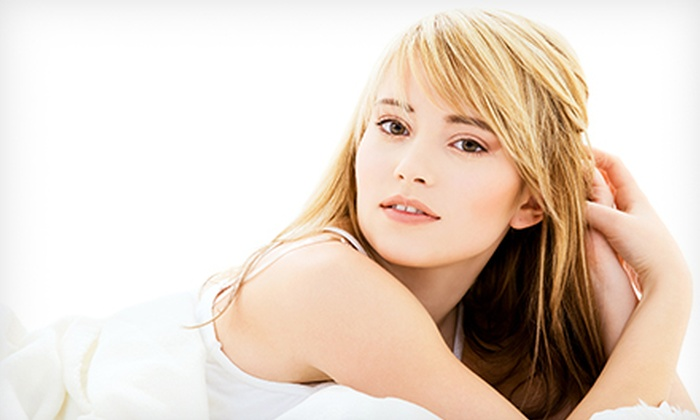 Colour Bar a salon - Greenville: Haircut with Option for Style, Style and Color Package, or Botox Hair Rejuvenation at Colour Bar a salon (Up to 71% Off)