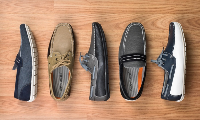 Franco Vanucci Boat Shoes or Loafers: $34.99 for Franco Vanucci Boat Shoes or Loafers ($79.99 List Price). 5 Styles Available. Free Shipping and Returns.