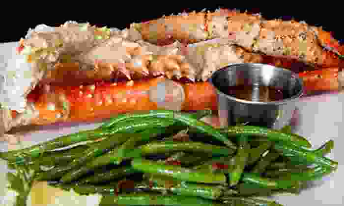 The Blu Crab Seafood House & Bar - Fort Worth: New Orleans–Style Seafood for Lunch or Dinner at The Blu Crab Seafood House & Bar (Half Off)