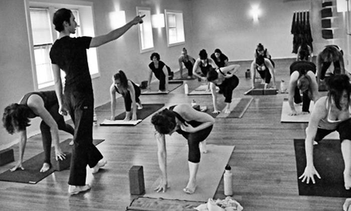 Lexington Power Yoga - Lexington Town Center: 5 or 10 Classes at Lexington Power Yoga (Up to 57% Off)
