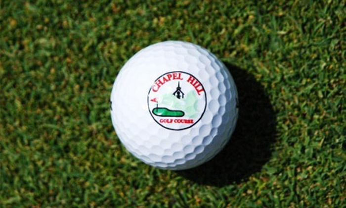 Chapel Hill Golf Course - Reading: 18 Holes of Golf with Cart Rental for 2 or 4 at Chapel Hill Golf Course (Up to 47% Off). Four Options Available.