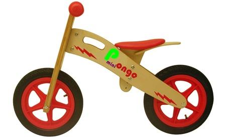 Bici per bambini con telaio in legno Mini Pongo